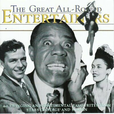 Various : Great All-Round Entertainers CD Highly Rated eBay Seller, Great Prices
