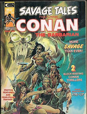 Savage Tales #4 ~~ Conan / Neal Adams ~ 1974 (4.5)