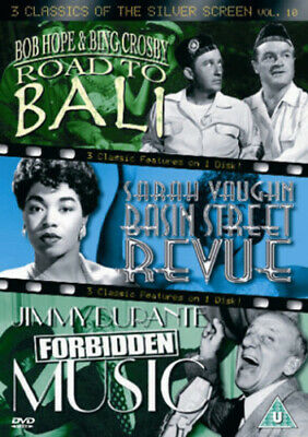Road to Bali/Basin Street Revue/Forbidden Music DVD (2005) Bing Crosby, Walker