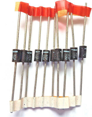 RGP30M Diode Switching 1KV 3A 1000v 2-Pin DO-201AD x10pcs