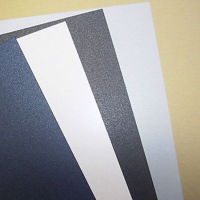 Pearl, Pearlescent, Pearlised Card Stock, 240gsm, Choose Colour, Qty and Size