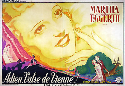 Waltz Melodies - Original French Poster - Very Rare