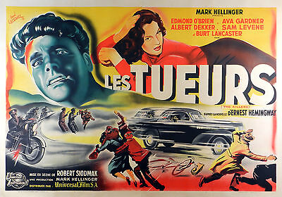 The Killers - Original French Poster - Very Rare