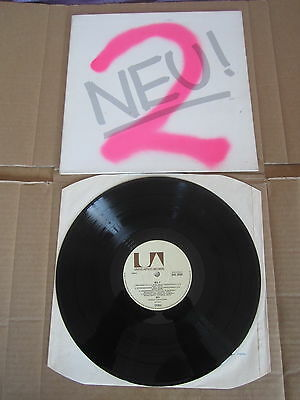 NEU Neu 2 LP VERY RARE ORIGINAL UK 1ST PRESSING GATEFOLD SLEEVE EXCELLENT+ COPY