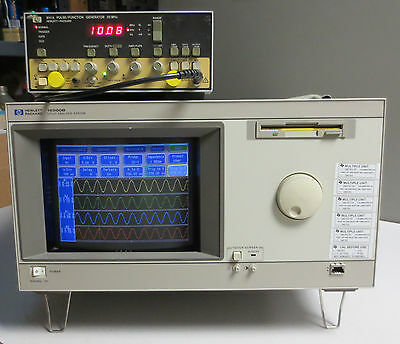 HP 16500B Logic Analysis System with Qty 2 16531A & 16555A Modules - Working