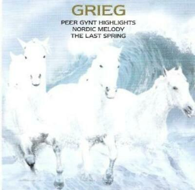 Edvard Grieg : Classical Masterpieces CD Cheap, Fast & Free Shipping, Save £s