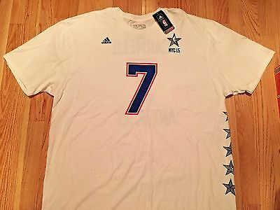 Carmelo Anthony NBA All Star Game 2015 Jersey Tee Swingman T Shirt Adidas