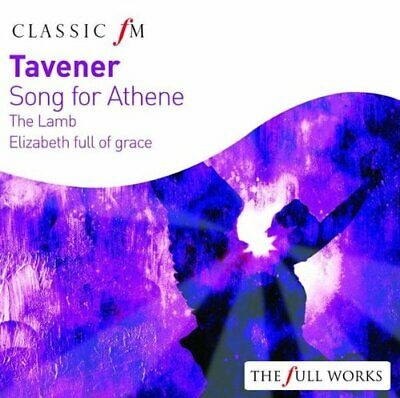 Various Artists : Tavener, John: Song for Athene CD Expertly Refurbished Product