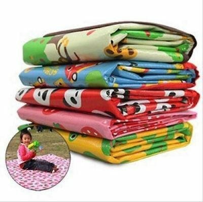 Kids Baby Extra Large Waterproof Beach Outdoor Picnic Play Rug Mat Blanket
