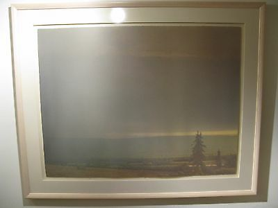 Sweetgrass Spring Evening - Russell Chatham Montana Suite Original Lithograph
