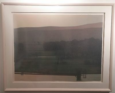 Beaverhead Summer Twilight - Russell Chatham Montana Suite Lithograph