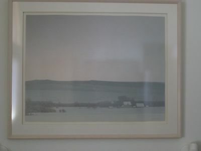 Silverbow Winter Dusk - Russell Chatham Montana Suite Lithograph