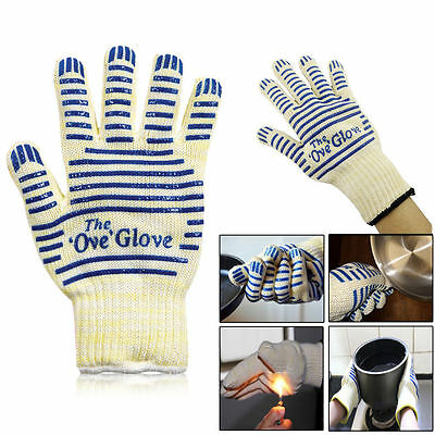 US Ove Glove Hot Resistance Surface Handler Oven Firefight Kitchen Tool New