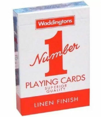 Waddingtons Playing Cards No-1 Superior Quality Red & Blue