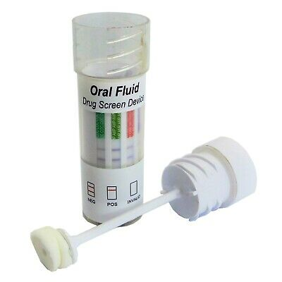 2 Saliva Drug Testing Kit -Oral Screening For 7 Substances - Police Driving Test