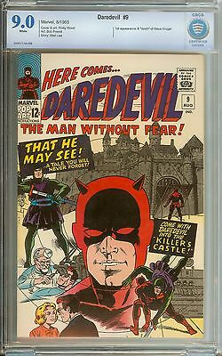 Daredevil #9 Cbcs 9.0 White Pages // 1St Appearance Of The Organizer