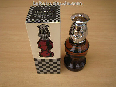 VINTAGE AVON AFTER SHAVE CHESS PIECE The King El Rey