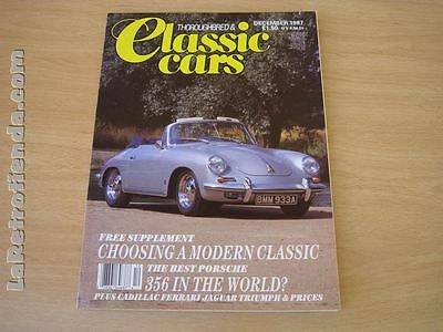REVISTA THOROUGHBRED & CLASSICS CARS December 1987