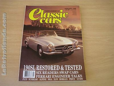 REVISTA THOROUGHBRED & CLASSICS CARS January 1988