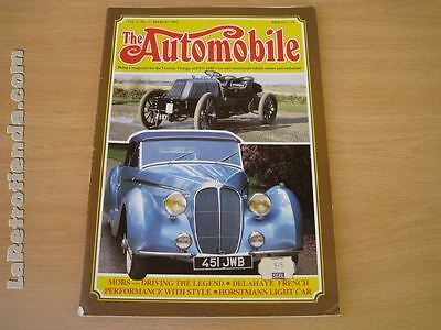 REVISTA THE AUTOMOBILE  vol 3 no 1 March 1985