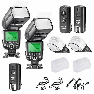 FLASH SPEEDLITE PER NIKON I-TTL KIT  Include 2 FLASH 4 DIFFUSORE 2 TRIGGER CAVI