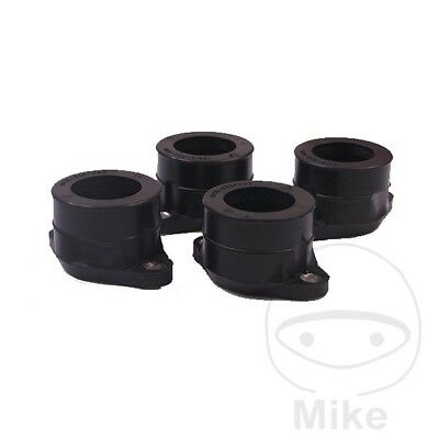 For Honda CB 350 F Four 1973-1974 Intake Inlet Rubber Kit (x4)