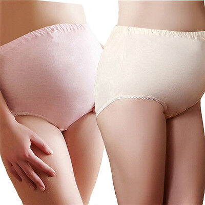 Pregnancy/ Maternity Underwear comfy Briefs /Panties Cotton Over Bump Support