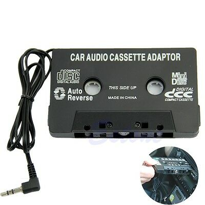 3.5mm Aux Car Audio Cassette Tape Radio Adapter For iPhone iPod MP3 CD MD Player
