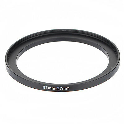 67-77mm 67mm-77mm Metal Step Up Lens Filter Ring Stepping Adapter 67 to 77