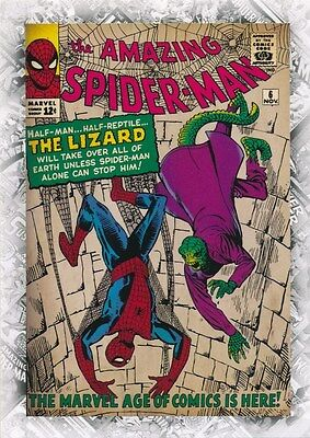 THE AMAZING SPIDER-MAN #6 COVER B-15 2011 Upper Deck Marvel Beginnings I CARD