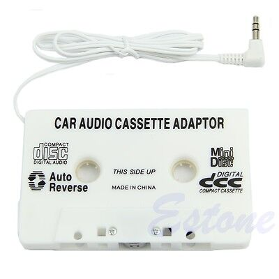3.5mm Aux Car Audio Cassette Tape Radio Adapter For iPhone iPod MP3 CD Player