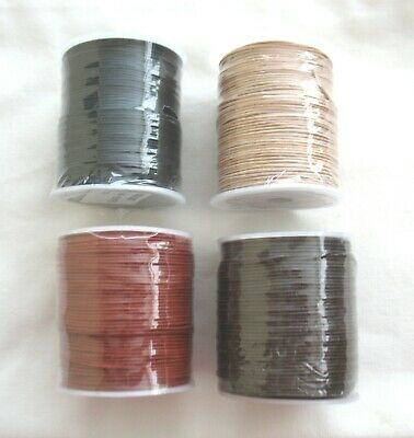 5metres of ROUND LEATHER CORD 1mm
