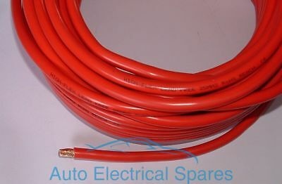 1mt PVC High Flex Battery Cable Multi Strand Copper RED POSITIVE 170amp 25mm2