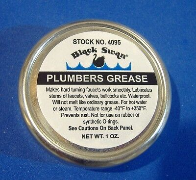 Heat Proof Grease Faucet Stem And Valve Plumbers O'ring Grease Lubricant 1Oz