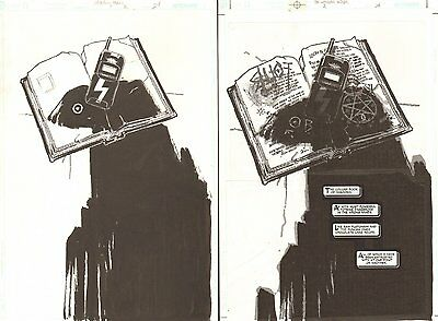 Witching Hour #2 p.24 - The Collins Book of Shadows Splash art by Chris Bachalo
