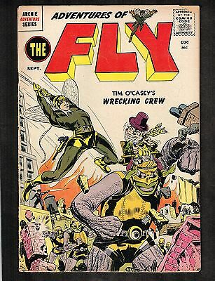Adventures of the Fly #2 ~ Simon & Kirby ~ 1959 (3.5) WH