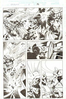 Galactus the Devourer #6 p.26 - Iron Man, Human Torch, Thor - 2000 John Buscema