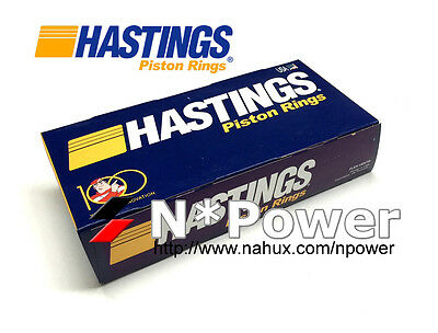 HASTINGS MOLY PISTON RING STD for HOLDEN 3.8L V6 SuperCharged ECOTEC COMMODORE