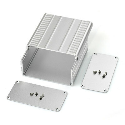 Aluminum PCB instrument Box Enclosure Case Project Electronic DIY -100*100*50mm