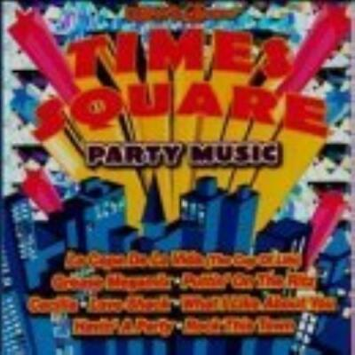 Various Artists : Times Square: Party Music CD Expertly Refurbished Product