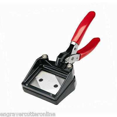 Top Sale Large Size Manual ID Card Passport Puncher Photo Cutter
