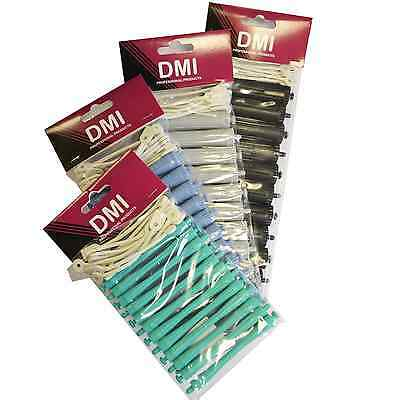 12x DMI Brand Professional Perming Rods / Curling Sizes 4mm-16mm Hairdressing