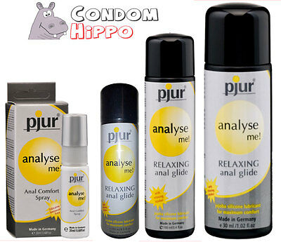 Pjur Analyse Me Silicone Anal Relaxing Lube All Sizes FAST POST Private Listing