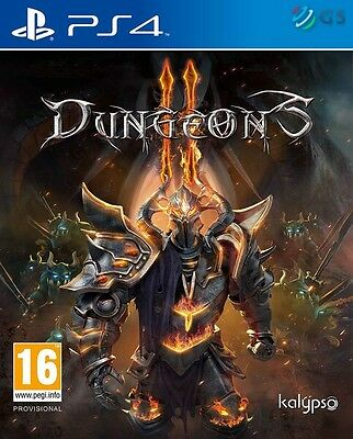 Dungeons II 2 & Exclusive Content PS4 * NEW SEALED PAL *