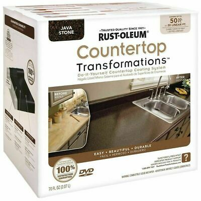 Rustoleum 258283 Java Stone Countertop Transformations Kit Covers 50 Sq Ft