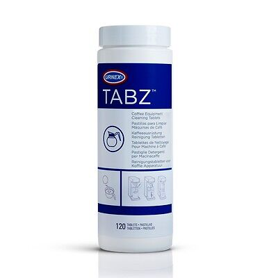2 Urnex TABZ F61 Coffee Machine Equipment Cleaning Tablets 120 4g