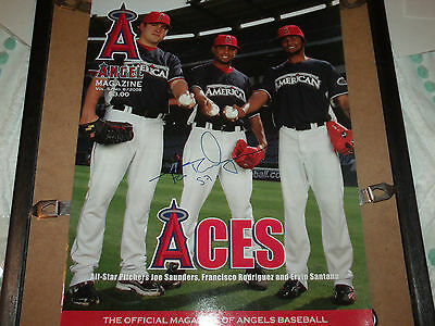 Francisco Rodriguez Hand Signed 2008 Angels Magazine