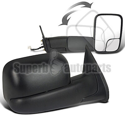 2005-2014 Toyota Tacoma Truck Power Towing Fold Out Side Mirrors
