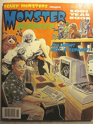 SCARY MONSTERS Presents MONSTER MEMORIES 2001 Year Book #9 (NM, 9.4 or better)