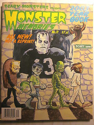 SCARY MONSTERS Presents MONSTER MEMORIES 2003 Year Book #11 (NM, 9.4 or better)
